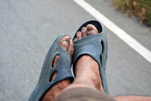 Demenz ohne Socken