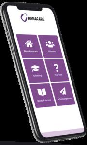 Manacare App Deutsch